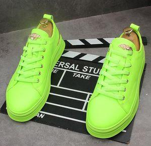 Low top lace-up shoes for men Metal buckle men's shoes designer sneakers loafers Hip-hop Web celebrity shoes zapatillas hombre