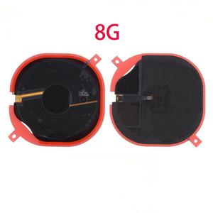 10pcs Pour Iphone 8 Plus X Chip Nfc Panneau chargeur sans fil de charge Coil Sticker Flex Ruban Câble