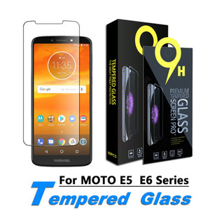 Застежка для закаленного стекла Kareen для Moto E5, Plus, Play, E5 Supra, E5 Cruise, E6 (9H Твердость) с розничной бумагой