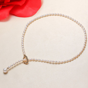 Pearl popular neckchain natural freshwater pearl origin direct selling cross border Girls Fashion versatile necklaces supply wholesale