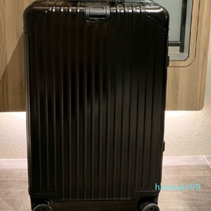 New-material TSA customs lock thickened aluminum alloy suitcase corner large capacity travel case air case 24 inches