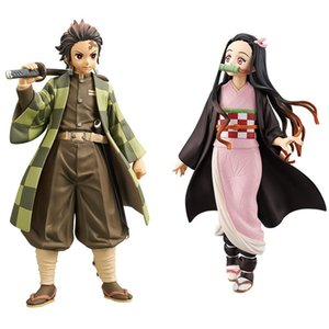 Demon Slayer Figures Cute Demon Slayer Figures Demon Slayer Character model Children gift Table Decoration PVC