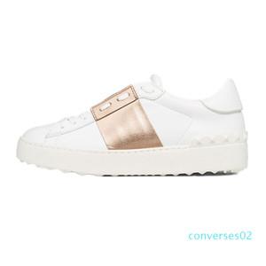 Ll2020 Platform Branco Black Men Red Mulheres Casual Couro sapatos abertos Mens Low Trainers Sapatilhas Sports Tamanho 35-46 CO02