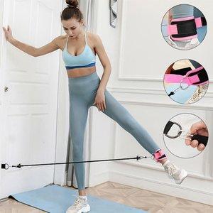 Hiinst Destek Sapanlar için Kalça Kaldırma için Kapı Ayak Bileği Sapanlar Ve Toka Ayak Bileği Yoga Streç Eğitim Spor Salonları Kol Fitness Ekipmanları