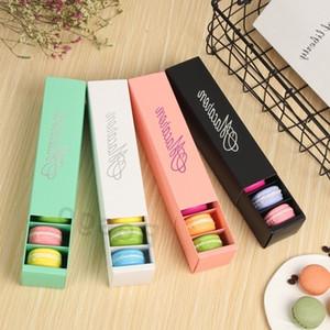 마카롱 상자 케이크 상자 베이킹 홈 메이드 마카롱 초콜릿 박스 비스킷 머핀 박스 소매 종이 마카롱은 상자 포장 공급