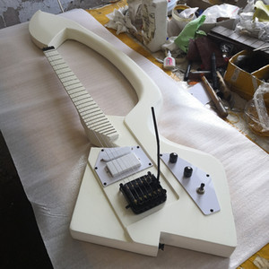New Custom Prince white guitar Jerry Auerswald Model C white Prince Symbol electric guitar Multi Color Available China Guitars