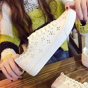 Summer casual white shoes woman flat loafers white Slip-on Sneakers women's white shoes made of leather. SP-076