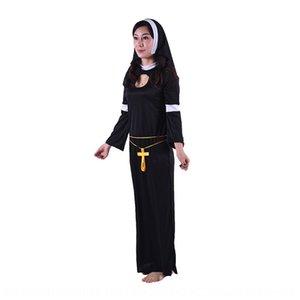 Хэллоуин сексуальная монашка новая ролевая однотипный Nv-фу Чжуан Сценический костюм Nv FU Чжуан косплей сценический костюм fl1lZ