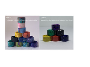2020 nuovi tipi diversi di qualità superiore bastone tfv8 bambino v2 v9 max Tfv16 resina Drip Tip pelle di serpente con il prezzo di fabbrica