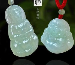 Jade Buddha Pendant Natural Jade Ping An Buckle Guanyin Jade Buddha Pendant Necklace Pendant Jewelry00