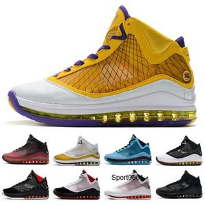 2020 Mais recente LeBrons 7 baixos tênis de basquete frescas criados equalit rei Lightyear Lebron sapatilha 7s Sports Trainers Outdoor Shoes