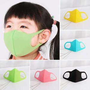Capretto dei bambini per adulti maschere spugna nave in 8 ore Designer maschera di protezione riutilizzabile lavabile in cotone nero PM2.5 Mascarillas protezione