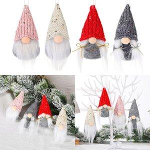 귀여운 크리스마스 트리 장식 펜던트 유럽과 미국 스타일의 창 익명의 인형 산타 클로스 인형 만화 크리스마스 장난감 w-00196