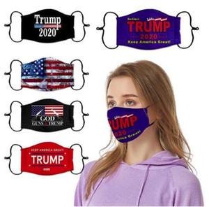 Cotone nero US STOCK Designer regolabile maschera antipolvere Face per Ciclismo Camping viaggio, 100% cotone riutilizzabile lavabile maschere di stoffa
