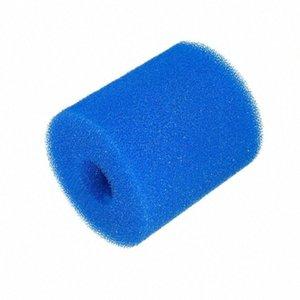 Wiederverwendbare Pool Filter Foam Sponge Waschbar Pool Schwamm Spalte Filter Foam d8qX #