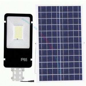 المصابيح الشمسية LED 300W 200W 150W 100W 50W LED الشمسية ضوء الشارع LED الفيضانات ضوء مصباح للطاقة الشمسية عمل السيارات في ليلة لمواقف حديقة ساحة QDBg #