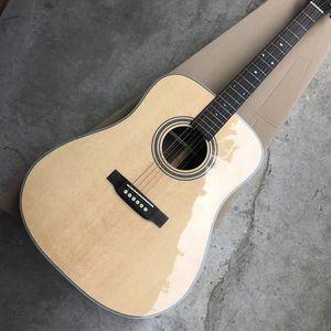 Katı Ladin Top Halk Elektro Gitar Klasik D Tipi 28 Tip 41 İnç Gitar