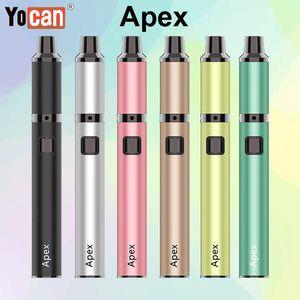 Autentico Yocan Stealth 2 in 1 Kit E Sigarette Vape Mod Kit 650mAh VV Flip Batteria Per Cera e Succo Vape Cartucce