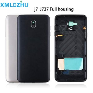 Cgjxsfor Samsung Galaxy J7 2018 J737 J737v J737p J737a J737t Phone New Chassis Housing Middle Frame With Rear Battery Door Back Cover