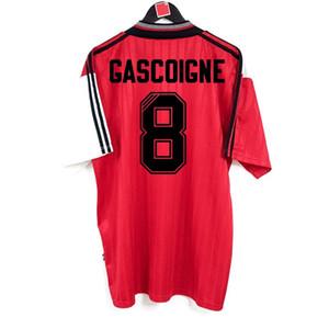Retro Glasgow Rangers Maillots de football 1995-1996 loin Gascoigne McCoist Laudrup Ferguson Football Kit classique vintage Chemi