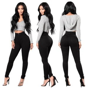 Newest Skinny Jeans Women Denim Pants Fashion High Waist Stretch Jeans Slim Pencil Ladies Hips Trousers Elastic Hips Pants