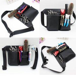 Профессиональные многофункциональные ножницы волос кожаный чехол Пояс Barber Packet салон кобура мешок Парикмахерские ножницы Kit Bag