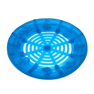 GORDON Forme ronde antiadhésifs en silicone Tapis de verre coloré bouteille tapis design innovateur portable pour Hookah bouteille en verre Shisha