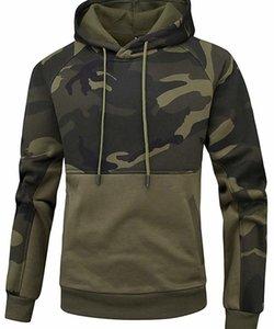 Fashion Fleece Hoodies Men Army Camo Hooded Sweatshrits Kanga Pocket Hoody Outwear Male Sportswear Super Mens Camouflage Hoodie33