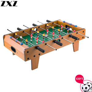 Wooden Children Tabletop Foosball Table Football Machine Double Christmas Gift Toy Boy Adult Entertainment Bar Games Table 69CM