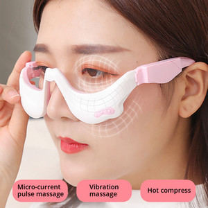 LEK Portable Electric pulse eye massager Eye Relaxation Relief vibration Massager Eye bag removal heating massager