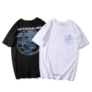 Heiße Art klassische personalisierte bedruckte T-Shirts, lässige für Männer und Frauen mehr als eine Farbe Offwhite t-shirts 10