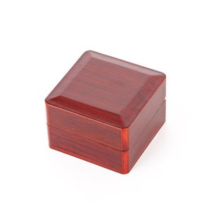 Championship Ring Display Case Box Wooden Box For Championship (Wood, 1 holes)
