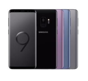 Original Samsung Galaxy S9 S9 Plus 64GB 5.8 / 6.2inch 12MP Solteiro SIM 4G LTE REBLUMENTADO TELEFONE CELULAR