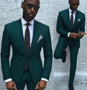 Fashion Men Suits slim fit new Army Green linen Men Suit wedding Party Prom Tuxedo Mens Casual Wear Suits666