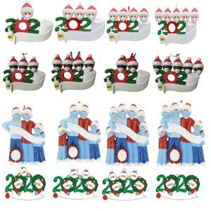 factory outlet personalizzato ornamenti di natale 2020 quarantena ornamenti decorazione dell'albero di Natale di consegna entro 72 ore di alta qualità