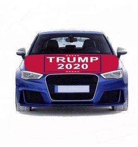 트럼프 후드 플래그 100 개 * 150cm 2,020 선거 트럼프 캠페인 자동차 Enginee 커버 플래그 세척 건조기 설치 및 제거 캠페인 배너 GGA3687
