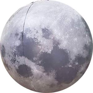 هدية الصيف نفخ القمر الكرة 12 بوصة قطر المرح للأطفال أو الكبار الأرض الطبيعية القمر الصناعي نموذج مناسب للتدريس العلوم