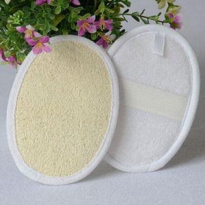 Pequeno Bath Natural Loofah Bath Pads Facial Início Disco Removedor de maquiagem Esfoliante de Rosto Loofah Pad DWF905