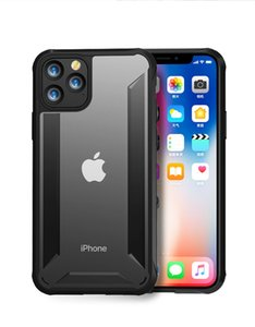 Para iPhone Conque 11 11Pro 11Pro Max Caso PC + TPU ultra slim fosco Matte Hard Cover, iphone XS Max XS XR X 8 7 mais