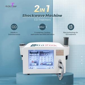 Medico Fisioterapia Attrezzatura onda d'urto dei prezzi all'ingrosso macchina Shock Wave eswt macchina ce portatili onde d'urto elettrica