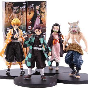 Demon Slayer Japanese anime character model 11 anime doll toy doll children gift cartoon toy ornament