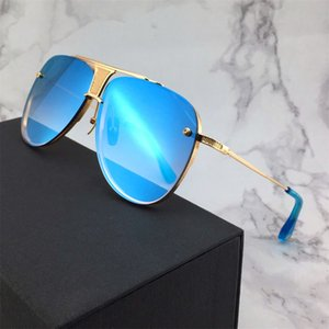 Gafas de sol 2020 de la nueva marca de moda de lujo del diseñador para hombre retro de los hombres gafas de sol de calidad superior aviador Gafas diseñador de las mujeres de lujo