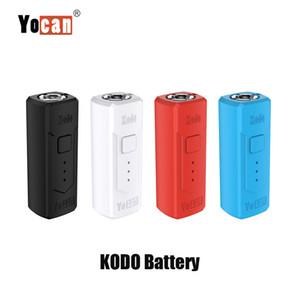 Аутентичные Yocan Кодо Box Mod 400mAh Разогреть VV E Cigarette Vape Mod Переменный Напряжение батареи для 510 Thread Картриджи Tank