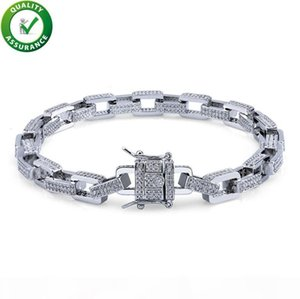 Luxury Designer Jewelry Women Bracelets Mens Gold Bracelets Hip Hop Diamond Pandora Style Charm Bracelet Love Cuban Link Chain Bangles Rock