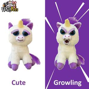 파이 스티 애완 동물 장난감 인형 플러시 화가 동물 인형 선물 유니콘