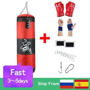 Vacío Boxeo Kick Home Fitness Training Hook Sandbag Punching Bag Boxing Muay Bag Colgando Punch Karate Thai Sand Fight Mdkcx
