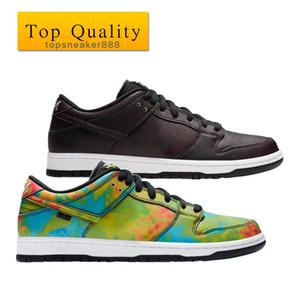 أعلى جودة رجل مشوه الأحذية السببية أسود أبيض أسود ظلال من اللون الأزرق الأحمر والأصفر حجم 36-45 مع مربع الرجال أحذية النساء حذاء