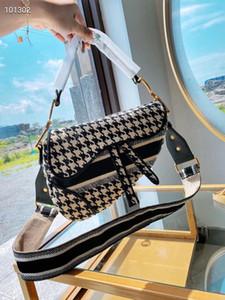 2020 новое известный бренд дамы мешок седла ретро высокого качества седло сумка сумка звезда знаменитость вдохновение вышивка плечо bag2
