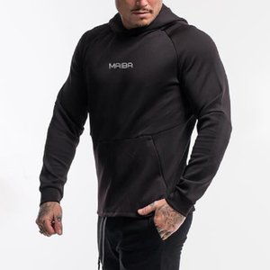 Autumn Gym Hoodies Men Casual Sweatshirt Fitness Workout Cotton Sportswear Spring New Male Plus size Loose Pullover Tops Clothes