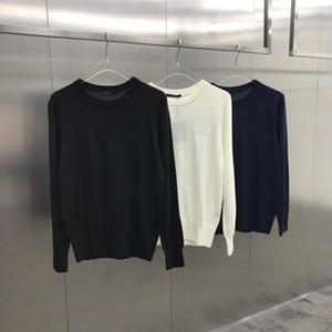20ss France ultima maglione moda primavera estate Italia ricamati fiori vecchi uomini donne casuale del cotone di baseball camicia bianca con cappuccio nero